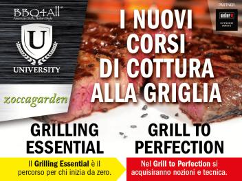 Grilling Essential – I nuovi corsi di cottura alla griglia