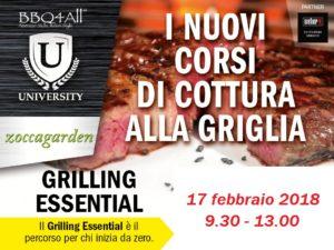 Grilling Essential: i nuovi corsi di cottura alla griglia